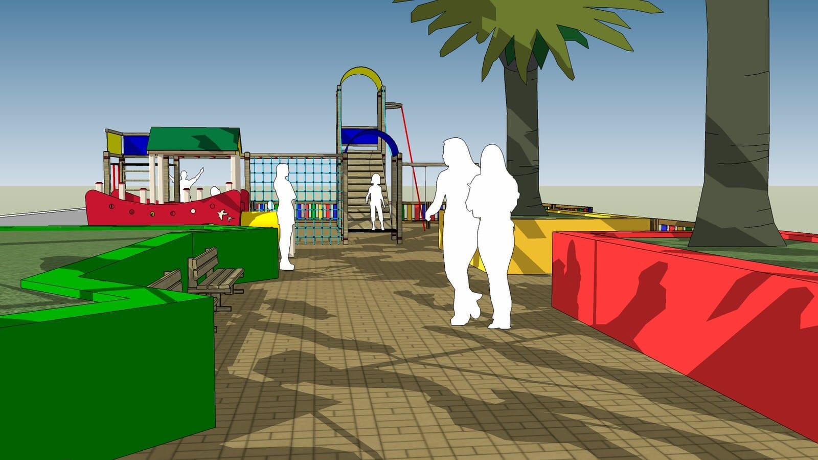 Aspra parco giochi