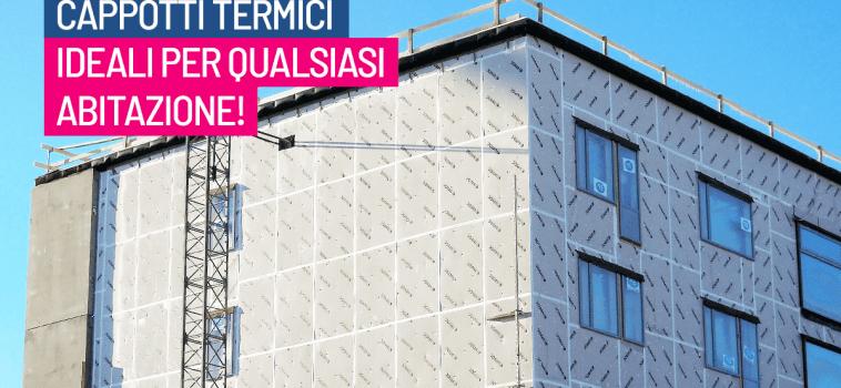 Installare un Cappotto termico: Un grande vantaggio!